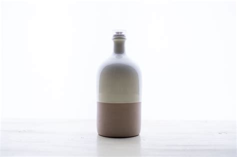 handmade ceramic bottle especially puglia