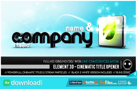 3d after effects templates free 28 images 3d minimal