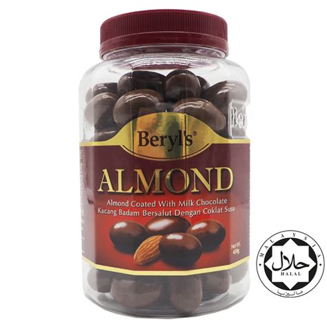 Beryls Almond Chocolate 500gr beryl s almond coated with milk choc end 1 26 2020 6 01 pm