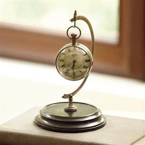Clock L Stand l oeil du temps clock with stand ballard designs