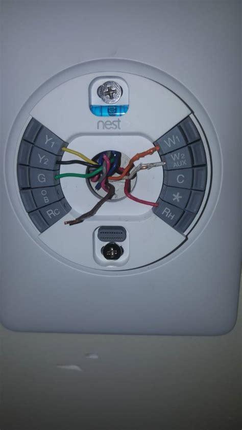 nest thermostat gen  wiring electrical diy chatroom