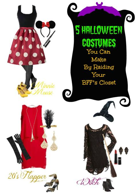 Simple Halloween Costumes From Your Closet