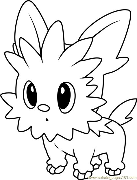 Pokemon Coloring Pages Lillipup | pokemon white lillipup evolution images pokemon images