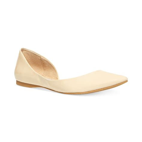 lyst steve madden s elusion d orsay flats in