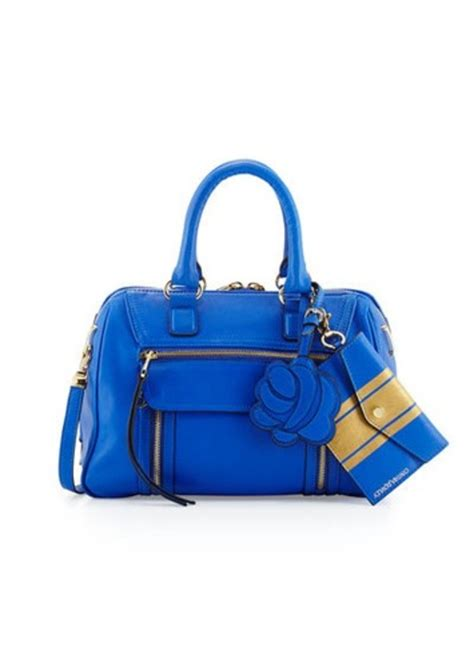 Cynthia Rowleys Leather Tote From Neiman by Cynthia Rowley Cynthia Rowley Reece Leather Satchel Bag