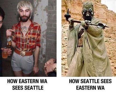 Seattle Meme - meme slapdown seattle vs eastern washington seattle s
