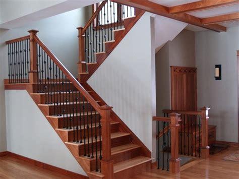fashionable interior stair railing ideas railings
