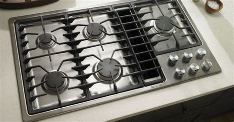 replace jenn air downdraft cooktop jenn air kitchen with stainless steel gas cooktop with