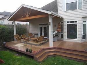 gable end patio cover and trex deck http tntbuildersinc