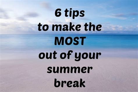 get more out of the calendar with resource booking and ical support 6 tips to make the most out of your summer break