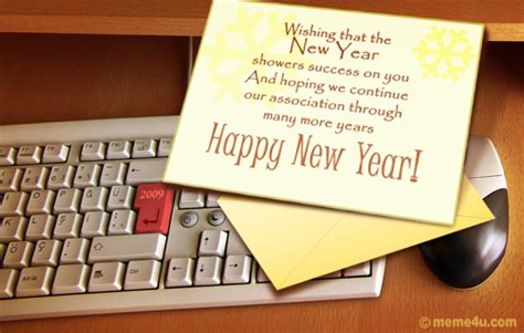 new year business ecard business ecards greetings business greetings from meme4u