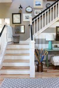 Top Of Stairs Baby Gate Banister Home Decor On Pinterest Fixer Upper Chip And Joanna