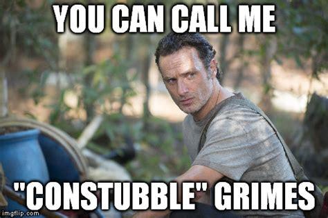 Grimes Meme - rick grimes new look and new gig thewalkingdead imgflip