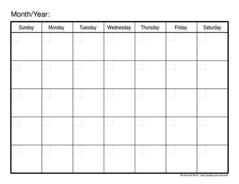 blank calendar template google docs pinterest the world s catalog of ideas