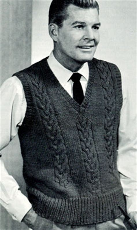 knit mens sweater vest pattern cable v neck pullover pattern free knit patterns