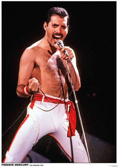 Big Wall Clocks by Queen Freddie Mercury Poster Europosters