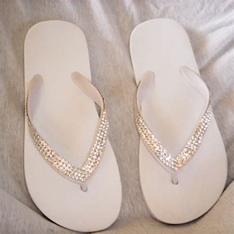 braut flip flops flip flops the bridal footwear for beach weddings