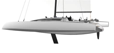 trimaran grainger tr52 performance trimaran grainger designs catamarans