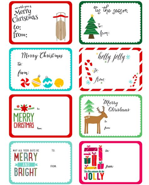 Free Printable Christmas Label Templates By Angie Sandy Present Labels Templates