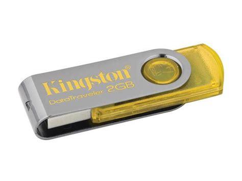 Usb 2 0 Flash Drive 2gb Yellow kingston datatraveler 101 2gb usb 2 0 flash drive yellow