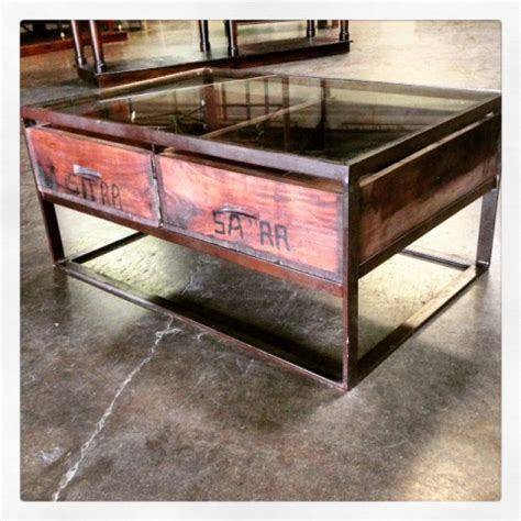 Glass Table With Drawers by Glass Top Coffee Table With Drawers Nadeau Charleston
