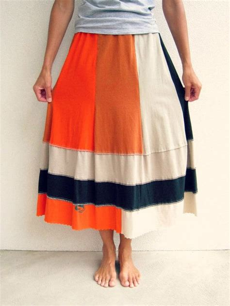 Zaema Dress By D Lovera upcycled t shirt skirt autumn fall earth tone colors by ohzie t 248 j t 248 j