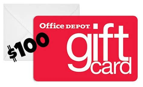 Office Depot Gift Card New Year S Organizing Revolution Grand Prize Week