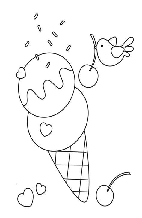 ice cream coloring pages online ice cream coloring pages coloringsuite com