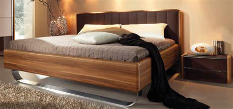 Schlafzimmer Komplettangebote Mit Matratze by Wellem 246 Bel Insua Bett Polsterkopfteil Bettgestell Walnuss