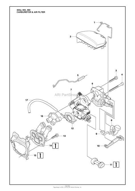 husqvarna 455 rancher parts diagram husqvarna 455 rancher 2009 10 parts diagram for