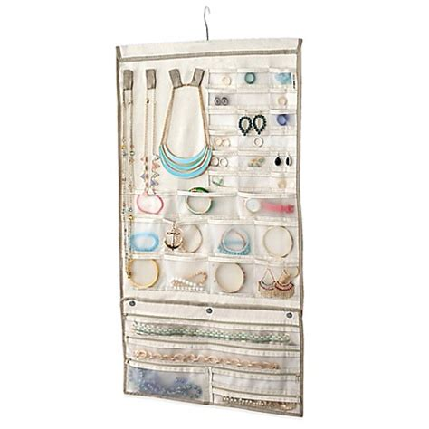 bed bath and beyond jewelry organizer real simple 174 jewelry organizer bed bath beyond