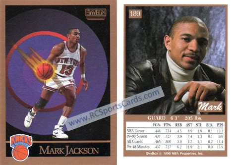 mark jackson hoops 1990 where to find 1988 1991 new york knicks basketball cards