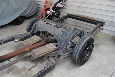 lincoln town car suspension lincoln town car rod conversion complete rolling frame