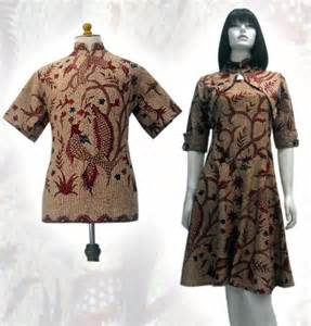 Model Baju Batik Model Batik Modern 2013 Hairstylegalleries
