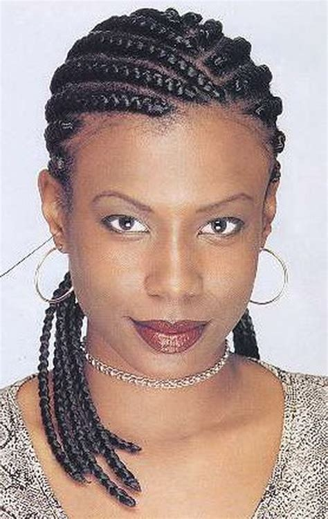 black braid hairstyles pictures cornrow braids hairstyles for black women