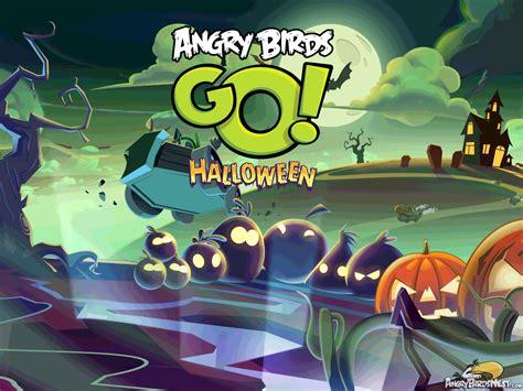 angry birds halloween update adds spooky kart angrybirdsnest
