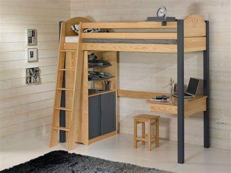 lit mezzanine avec bureau et armoire int馮r駸 lit mezzanine avec bureau dcopin secret de chambre