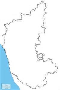 Karnataka Outline Map karnataka free map free blank map free outline map free base map coasts limits