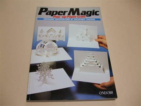 pop up paper crafts japanese book paper magic pop up paper craft chatani