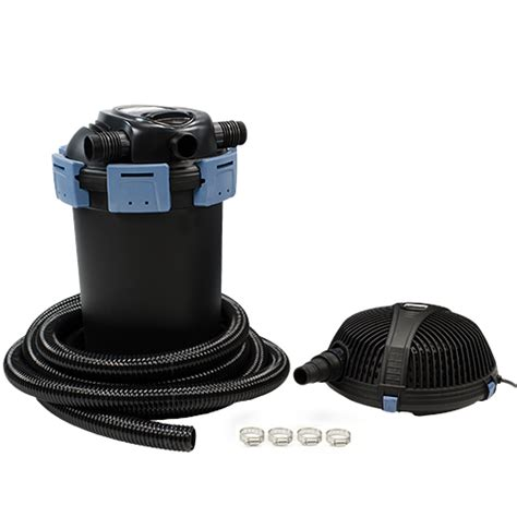 aquascape pond filters aquascape ultraklean 3500 filtration kit mpn 95060