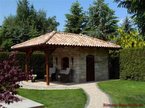 Mediterrane Gartenhauser