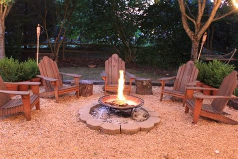 Backyard Ideas Cheap Fire Pit Tiki Torches And Summer Fun Cheap Backyard Pit Ideas