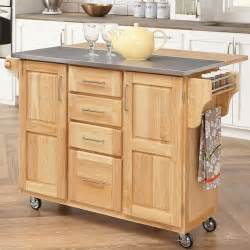 Rolling Island For Kitchen Wood Rolling Kitchen Island Trolley Storage Cart Bar Dining Stainless Steel Top Ebay
