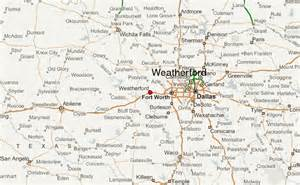where is weatherford on the map gu 237 a urbano de weatherford