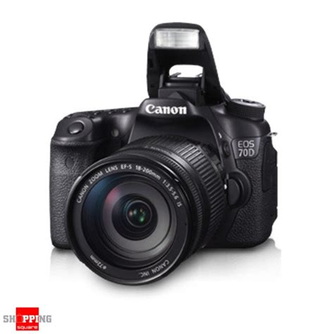 Kamera Dslr Canon 70d Kit canon eos 70d kit 18 200mm is lens dslr shopping shopping square au