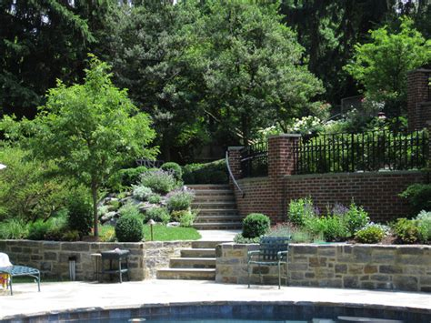 terraced patios gardens chestnut hill