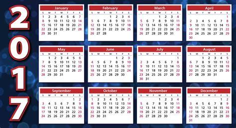 Kalender Med Uke Nr 2018 Illustrazione Gratis Calendario 2017 Ordine Giorno