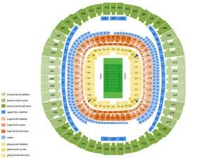 Mercedes Stadium Seating Chart Best Seats At Mercedes Superdome