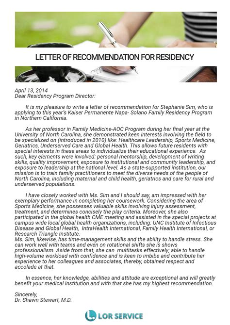 Thank You Letter Of Recommendation Residency Thank You Letter Social Work Resume Cover Letter Sle For Practitioner