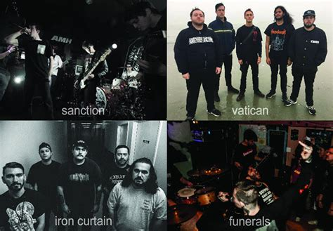 iron curtain band exclusive stream vatican funerals sanction iron